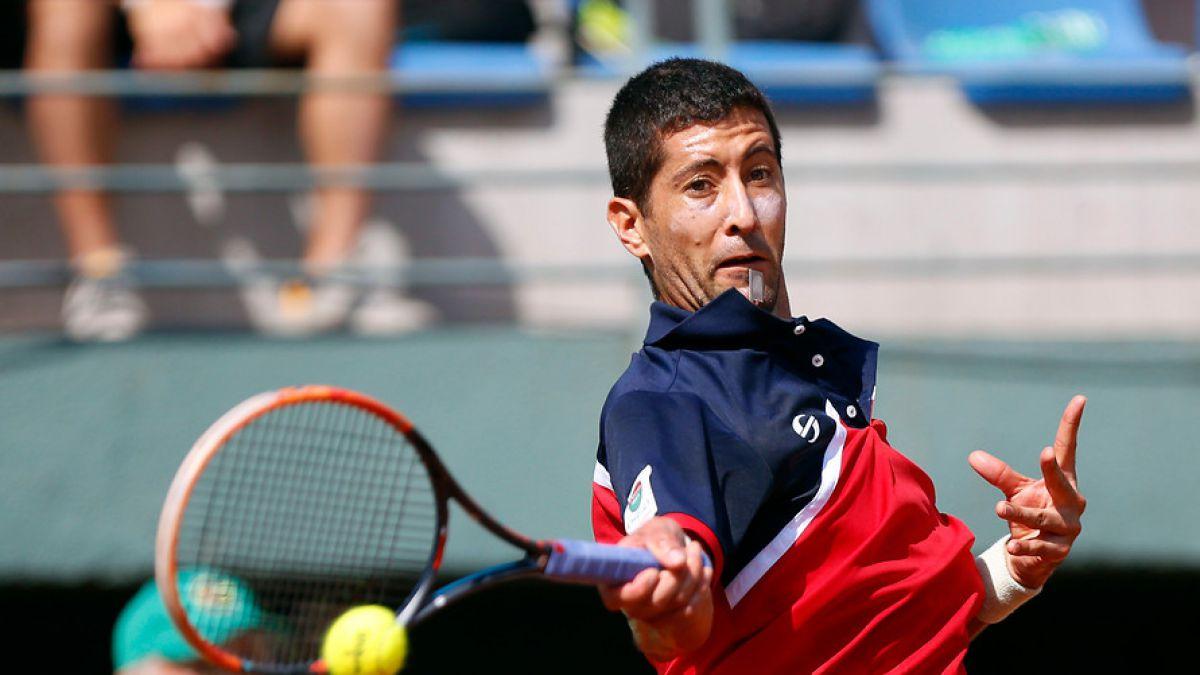 Hans Podlipnik se despide con dura derrota de la qualy de Roland Garros