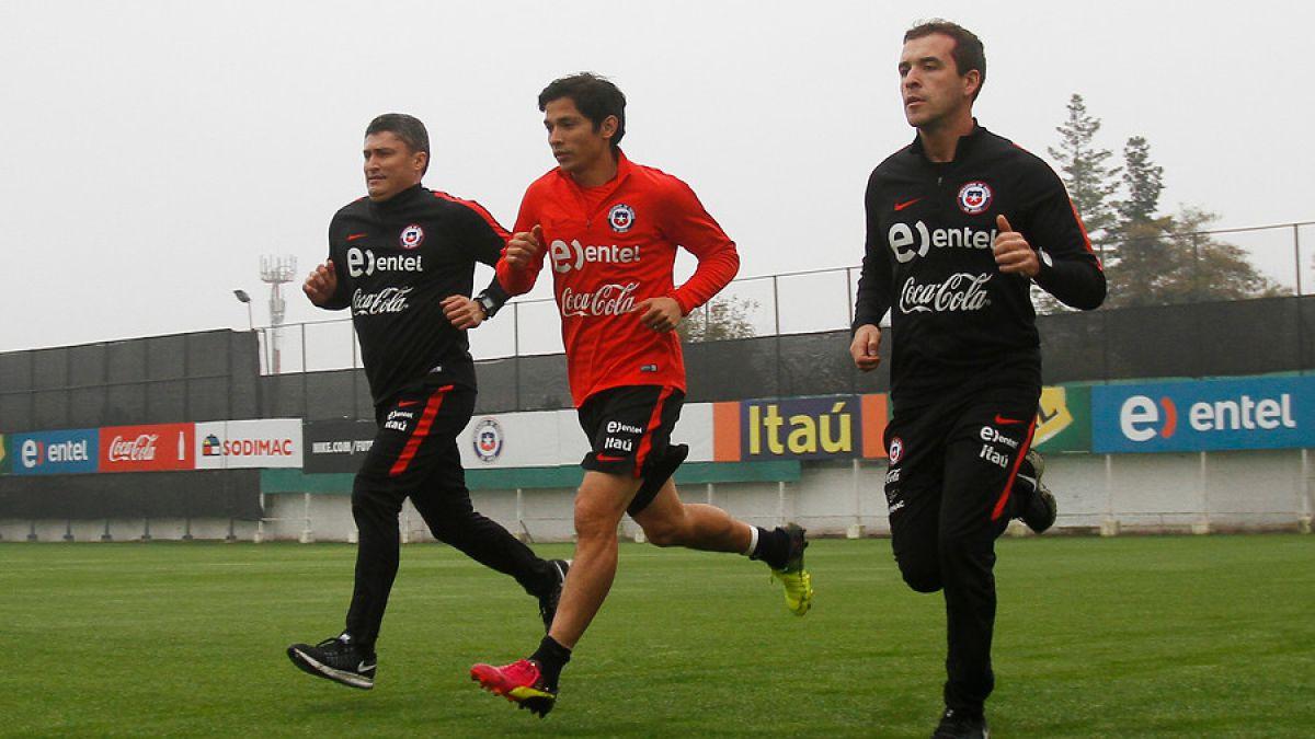 Matías Fernández se suma a las prácticas de La Roja para Copa América Centenario