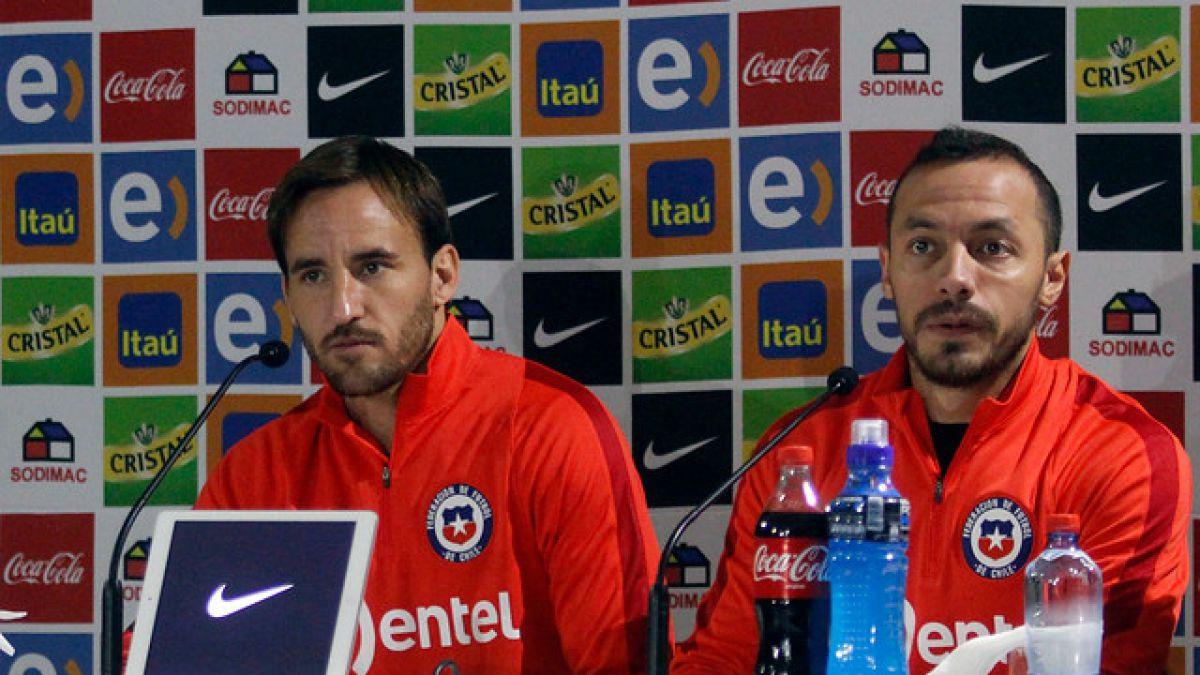 """Marcelo Díaz apuesta por Hernández como reemplazante de Valdivia: """"Es muy táctico"""