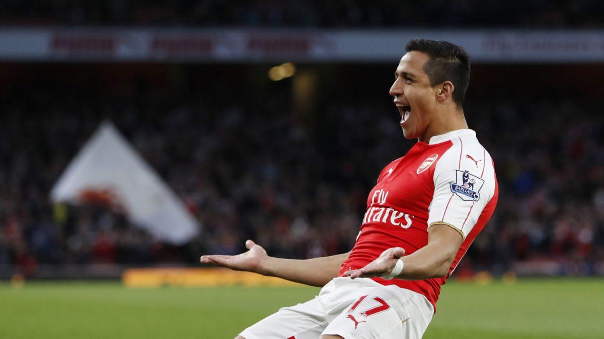 Alexis Sánchez es elegido como el segundo mejor jugador de la temporada del Arsenal