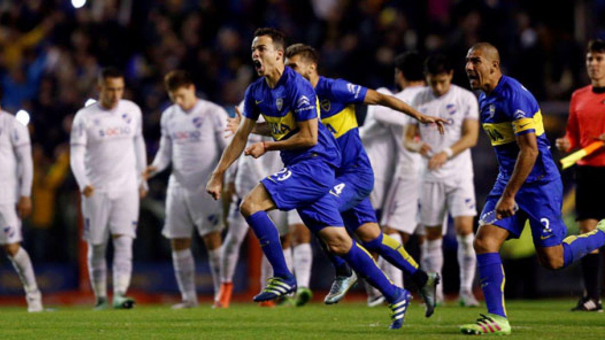 Boca elimina a Nacional en definición a penales y se instala en las semis de la Libertadores