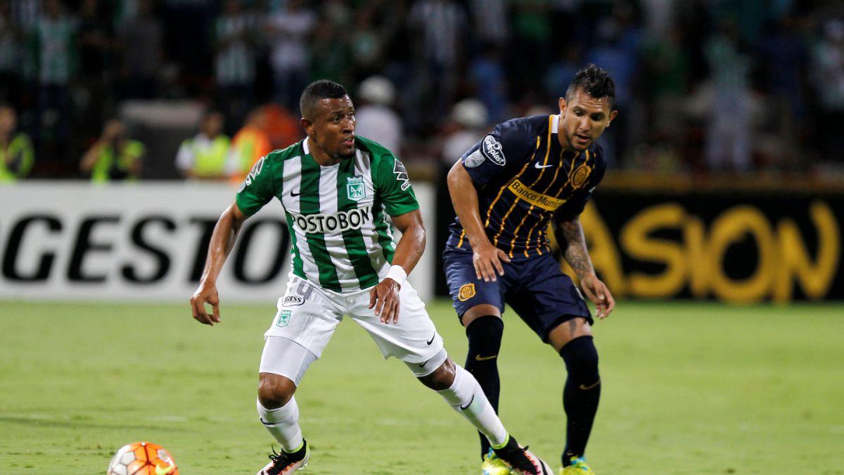 En vibrante definición Atlético Nacional derrotó a Rosario Central y es semifinalista