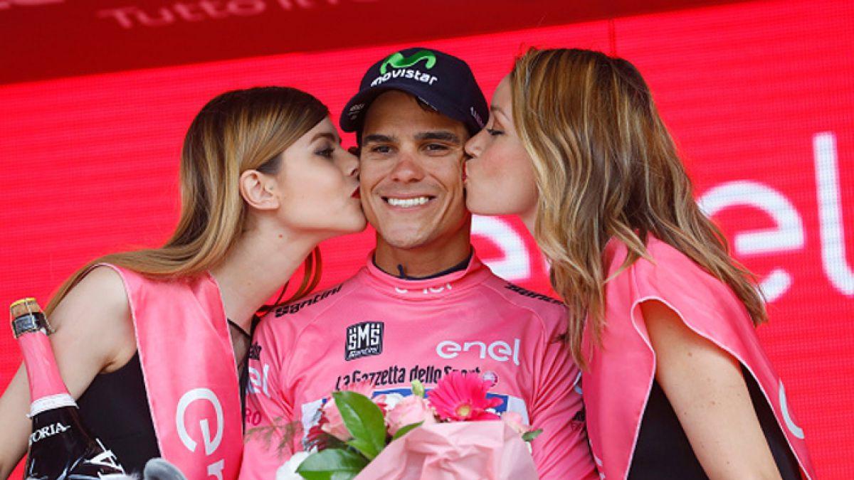 Costarricense Amador es líder del Giro de Italia tras 13 etapas