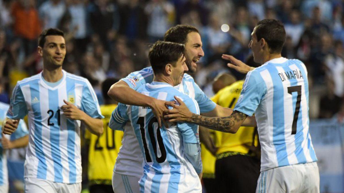 Argentina da nómina para Copa América Centenario con Messi, Higuaín y Agüero