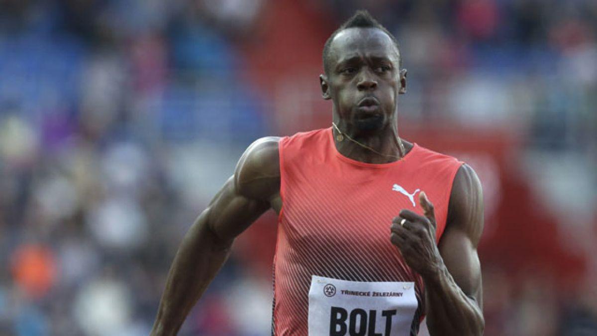Bolt envía un aviso a Gatlin bajando de los diez segundo en Ostrava