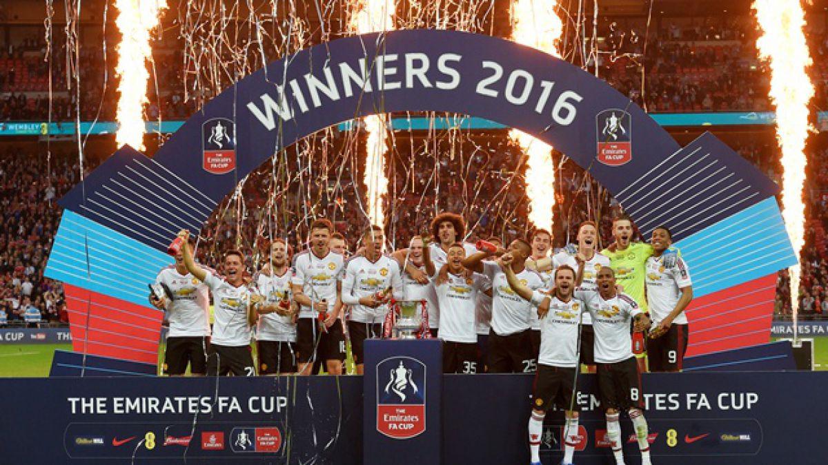 Manchester United se corona campeón de la Copa FA tras imponerse en el alargue al Crystal Palace