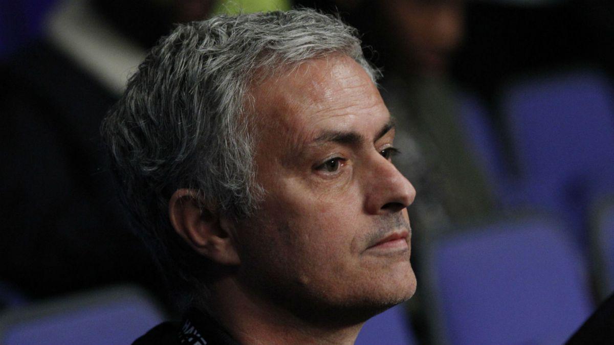 La primera imagen de Mourinho como nuevo técnico del Manchester United