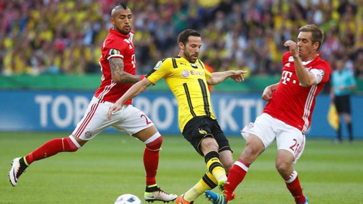 [Minuto a Minuto] Vidal y Bayern son campeones de copa tras vencer al Dortmund