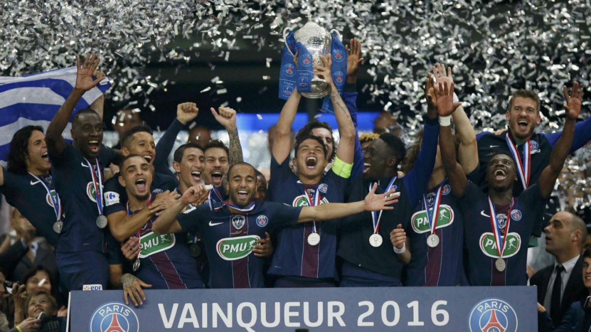 Mauricio Isla y Marsella no pueden con el PSG en la final de la Copa de Francia