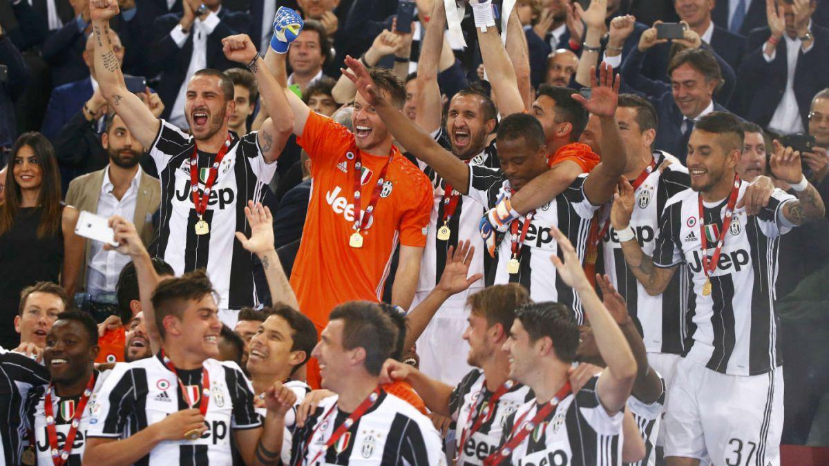 Nueva consagración: Juventus vence al Milan y se queda con la Copa de Italia