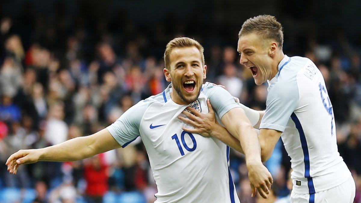 Dupla letal: Kane y Vardy se lucen en triunfo de Inglaterra sobre Turquía