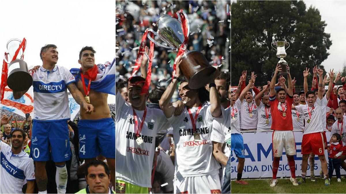 Campeones, ascensos y clasificados: Lo que dejó el primer semestre del fútbol chileno