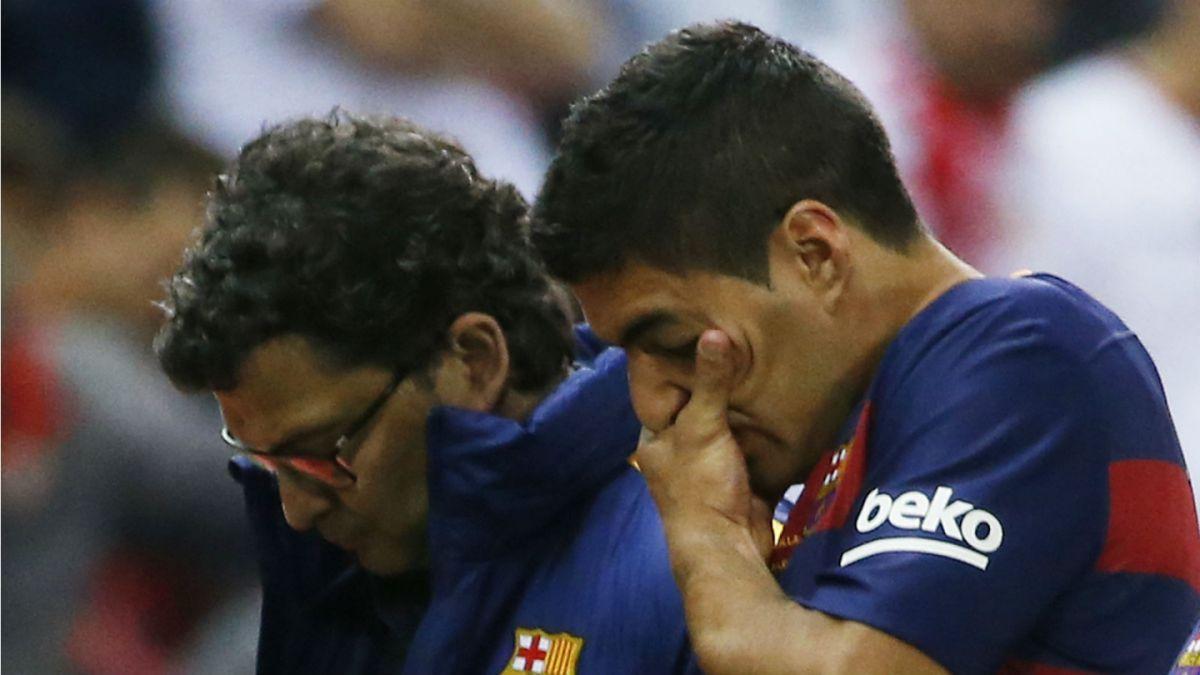 Luis Suárez se lesiona en final de Copa del Rey y podría ser duda para la Copa América