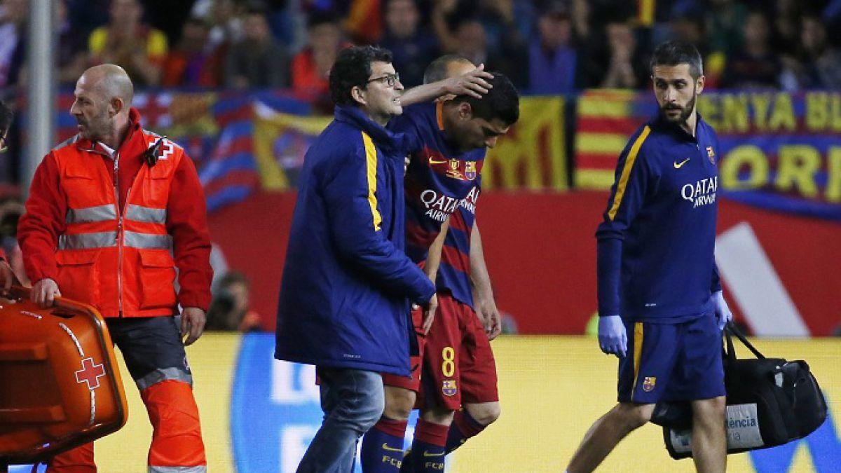 Se confirma lesión muscular de Luis Suárez que seguirá su recuperación en la selección uruguaya