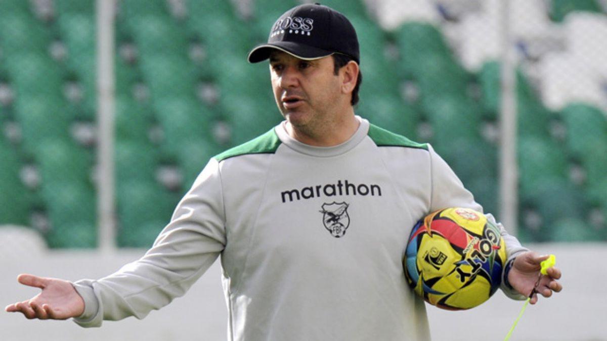 Bolivia arranca a media máquina primer entrenamiento con miras a Copa Centenario