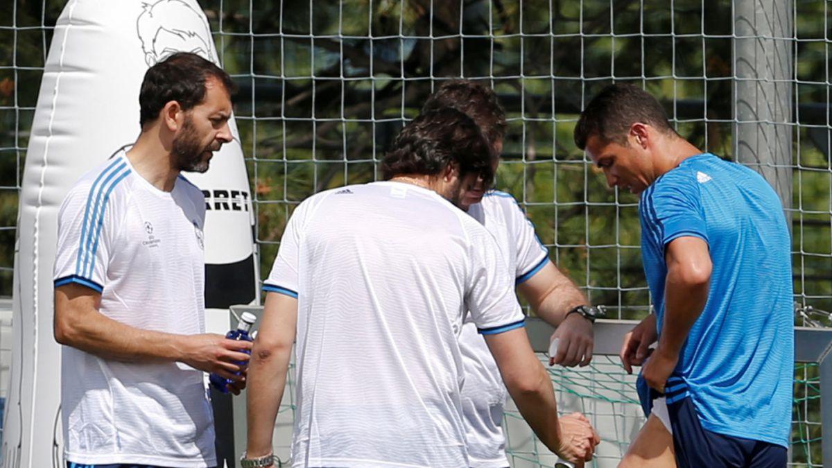 Cristiano Ronaldo aclara gravedad de problema físico sufrido en entrenamiento