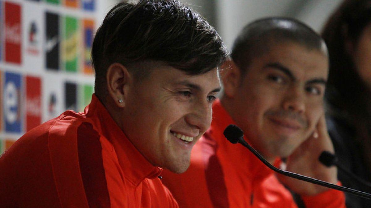 Nicolás Castillo en La Roja: Voy a aprender de los monstruos de delanteros que tenemos