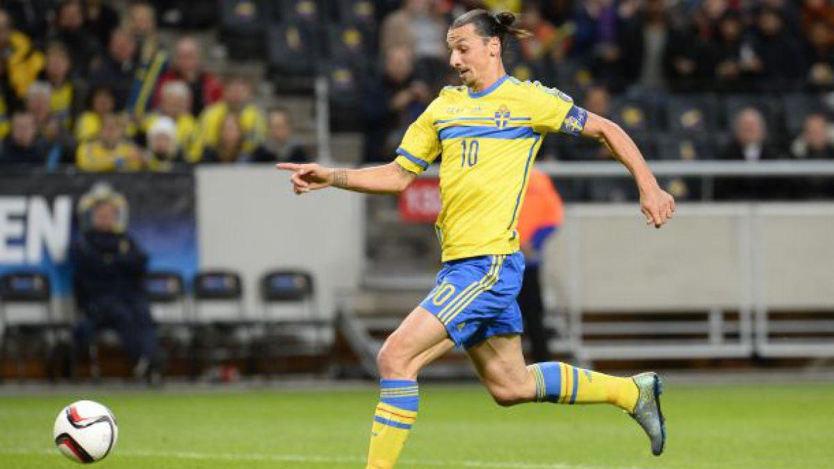 Zlatan Ibrahimovic podría integrar selección olímpica de Suecia en Rio 2016