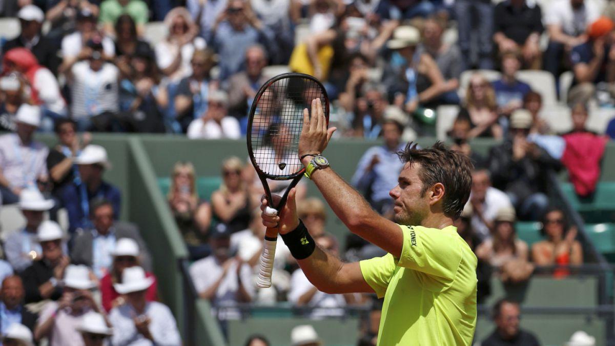 Stanislav Wawrinka sigue firme con su defensa de título de Roland Garros