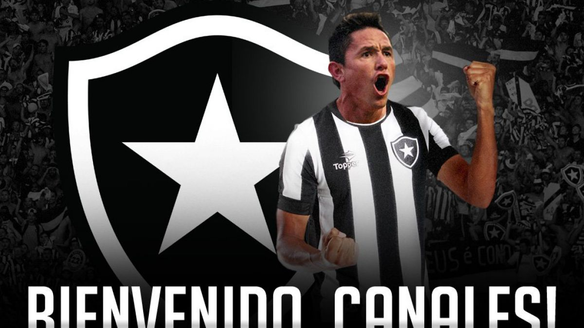 Gustavo Canales es oficializado como nuevo refuerzo de Botafogo