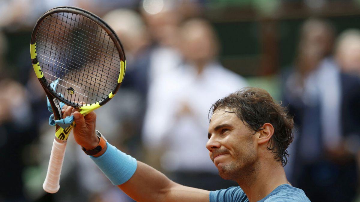 Nadal logra imponente marca de triunfos en Grand Slam tras nueva victoria en Roland Garros