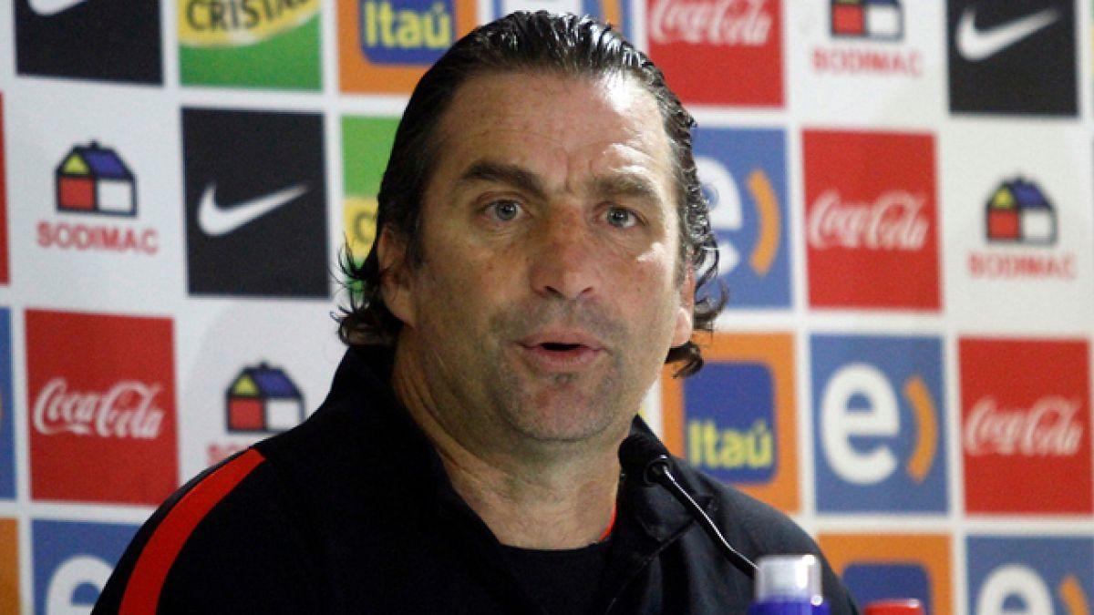 """Juan Antonio Pizzi: """"Tenemos la garantía y seguridad que Bravo va a estar en la Copa América"""""""
