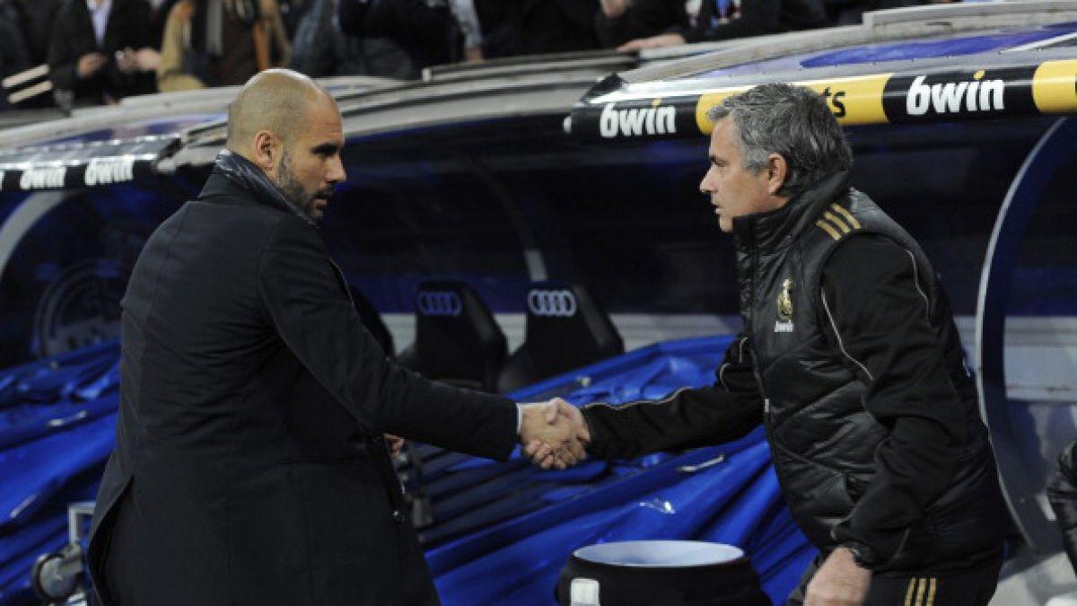 José Mourinho y Pep Guardiola volverán a verse las caras en Manchester