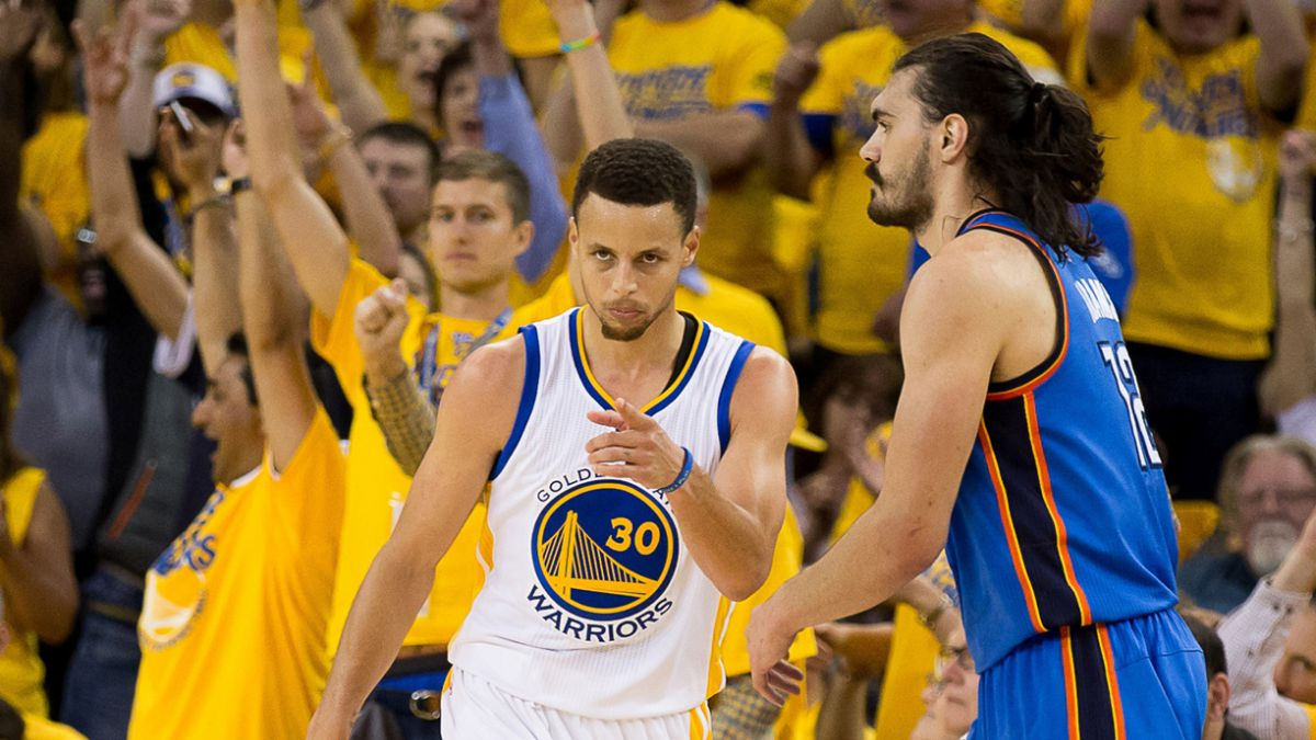 Warriors despiertan y siguen con vida ante Thunder en la final del Oeste