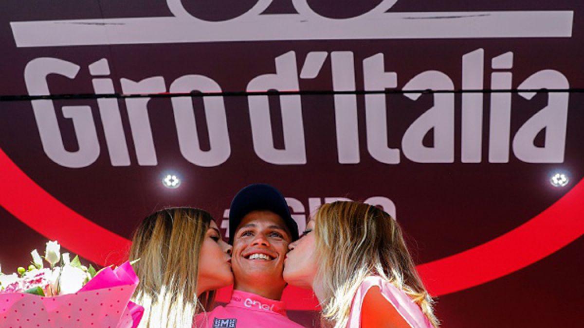 Colombiano Esteban Chaves es nuevo líder del Giro de Italia