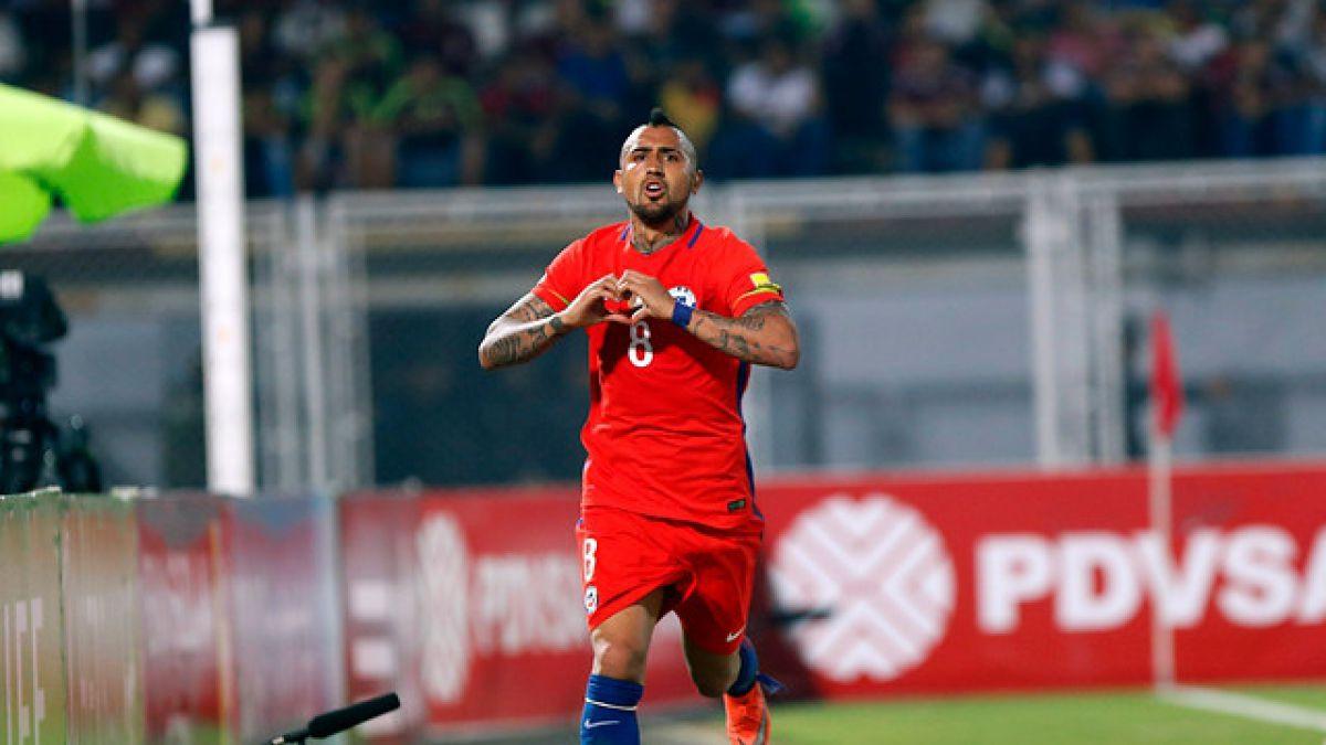"""Arturo Vidal disfruta de sus vacaciones antes de integrarse a """"La Roja"""""""