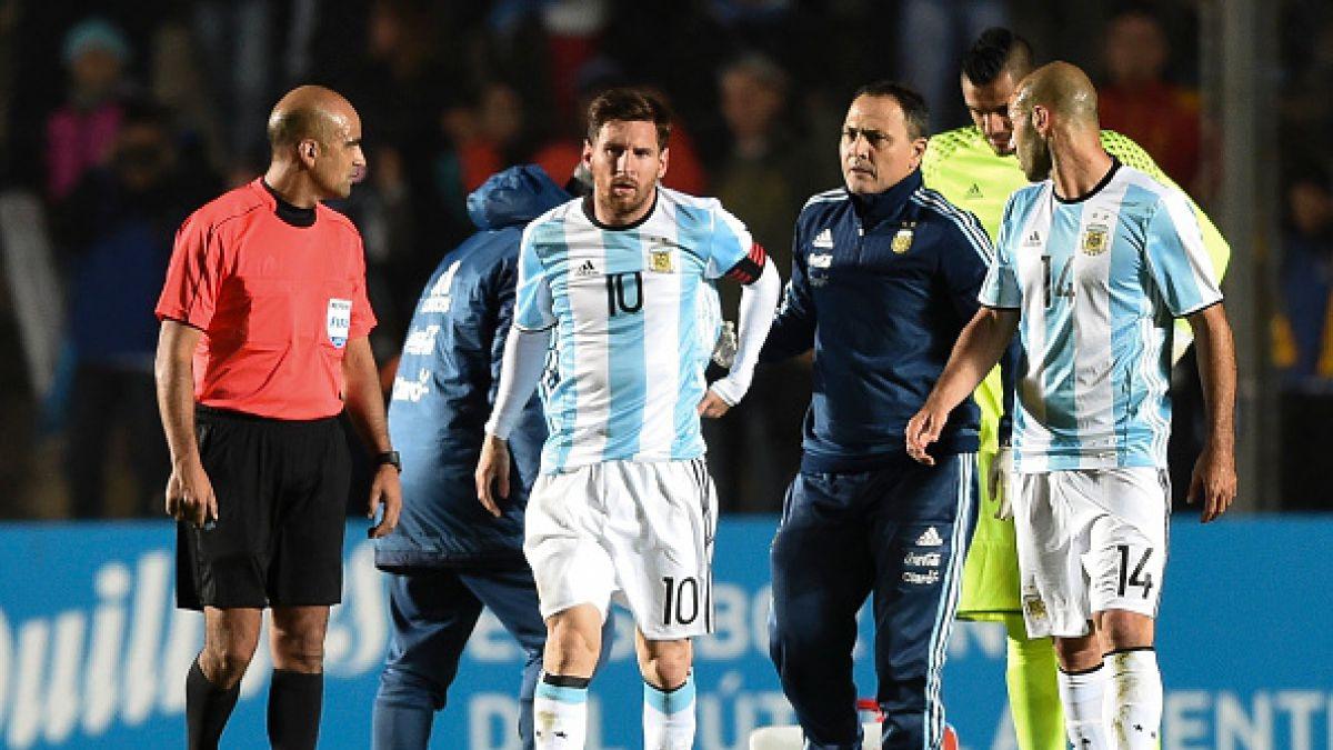 Lesión de Messi empaña el triunfo de Argentina sobre Honduras