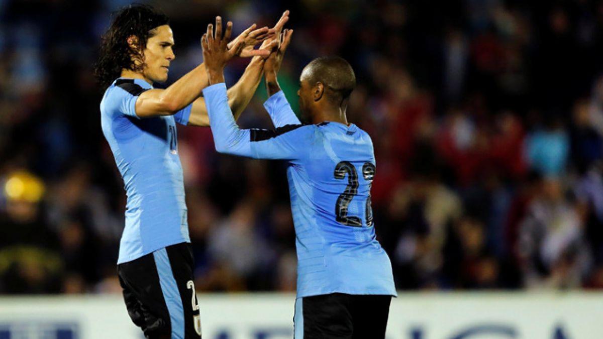 Sin extremarse Uruguay se despide con triunfo claro antes de la Copa América Centenario