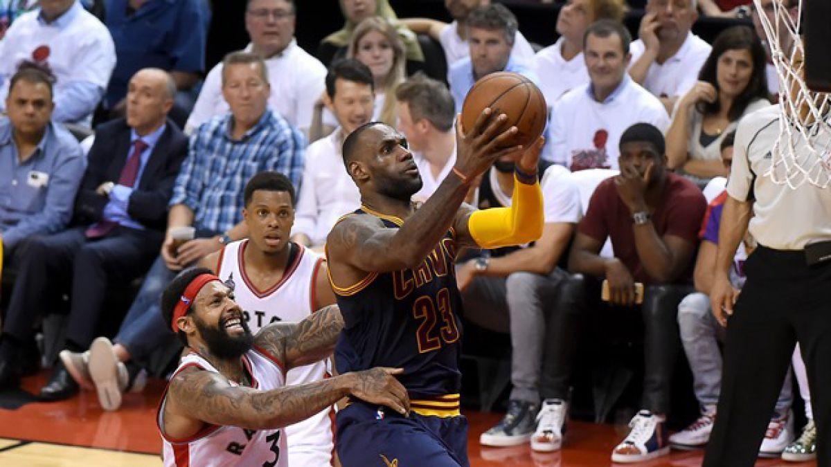 Los Cavaliers derrotan a los Raptors y logran pasajes a la final de la NBA