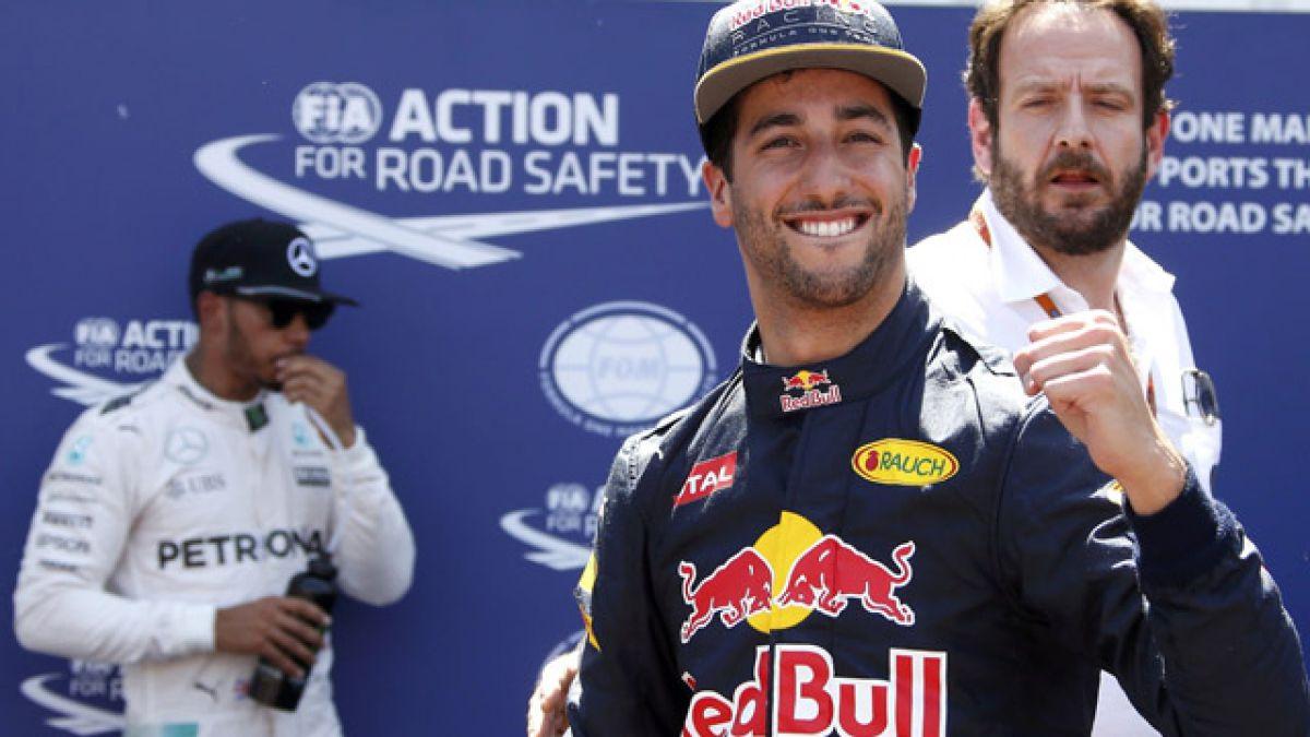 Daniel Ricciardo logra la pole en el GP de Mónaco
