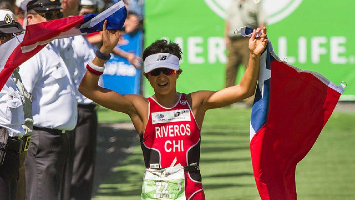 Bárbara Riveros gana triatlón de Bilbao a casi dos meses de Río 2016