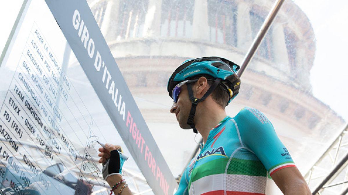 Vincenzo Nibali es el virtual ganador del Giro de Italia