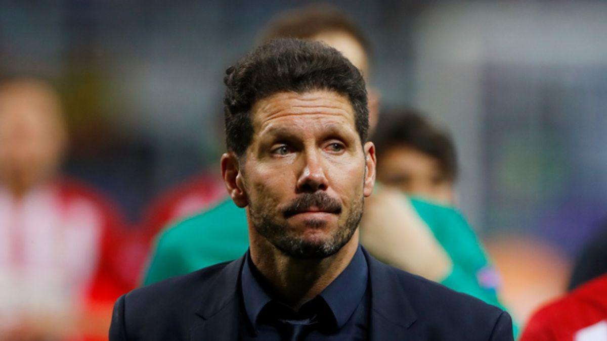 """Simeone destaca actitud de sus dirigidos tras derrota: """"Han hecho un esfuerzo extraordinario"""""""
