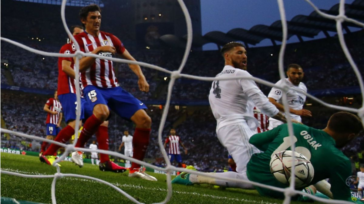 [VIDEO] Revive los goles de la final de la Champions entre el Real y el Atlético