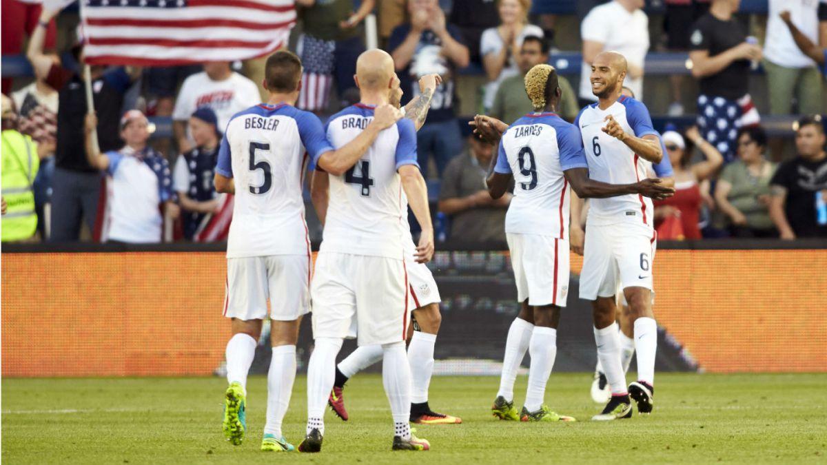 Estados Unidos golea a Bolivia en amistoso previo a la Copa América Centenario