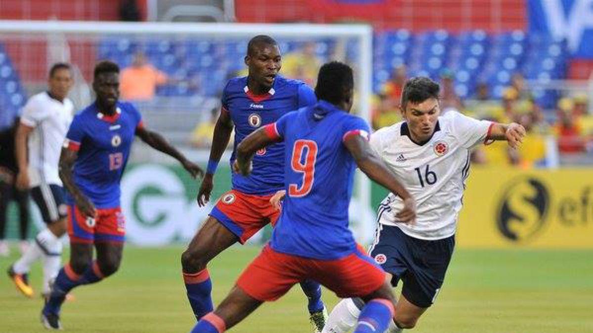 Colombia derrota a Haití y llega en buen pie a su debut en la Copa América Centenario