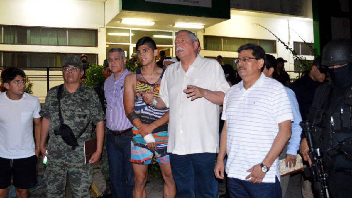 Fuerzas mexicanas rescatan al futbolista Alan Pulido que estuvo secuestrado 24 horas