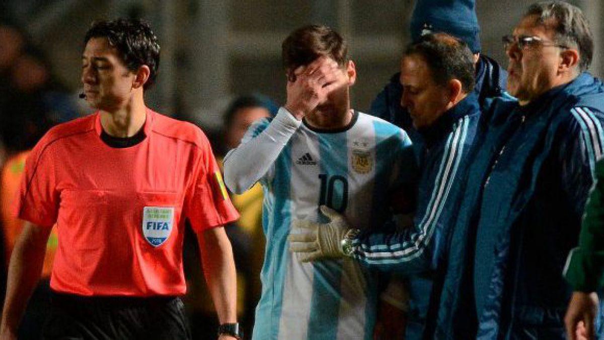 Argentina emite parte médico de Messi: Es tratado con antiinflamatorios y reposo deportivo