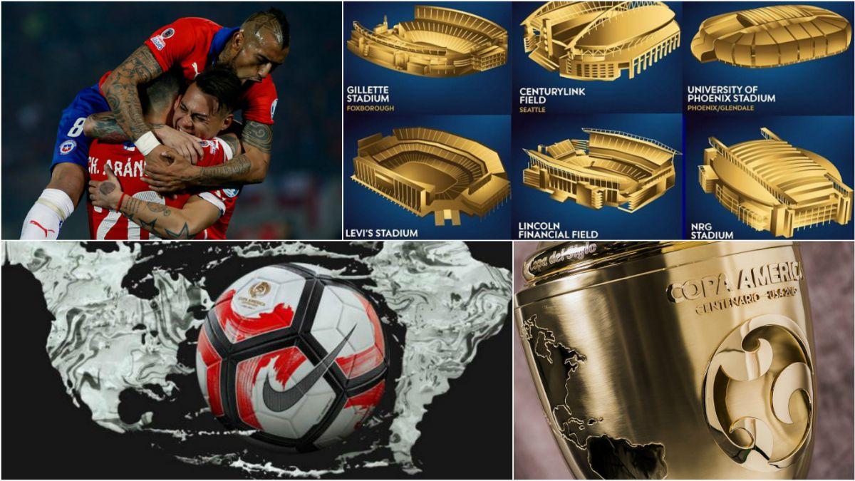 Los 10 datos imperdibles que debes saber de la Copa América Centenario