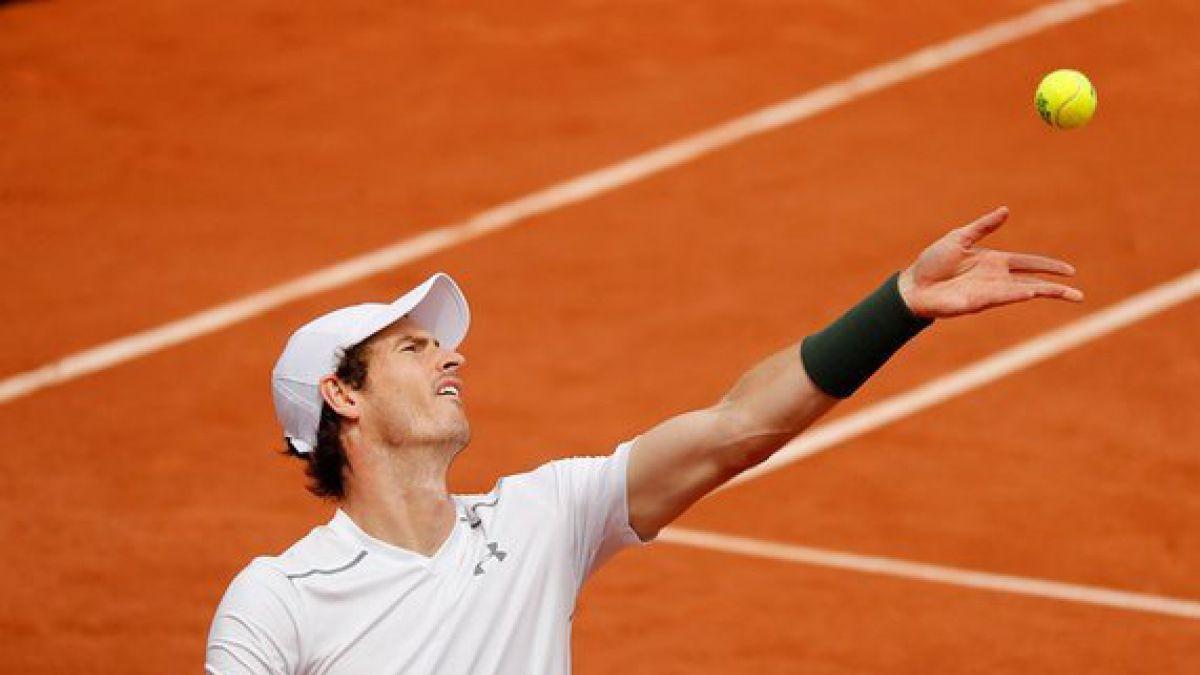 Murray gana a Gasquet y jugará con Wawrinka en semifinales de Roland Garros