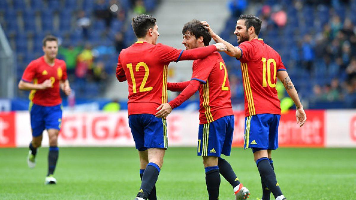 España cumple y golea a Corea del Sur en amistoso de preparación a la Eurocopa