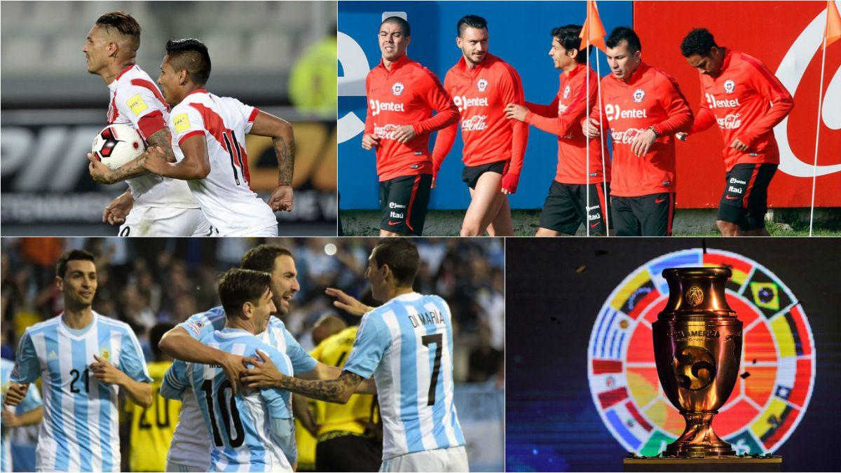 """Para tener en cuenta: Los 10 datos """"históricos"""" de la Copa América Centenario"""