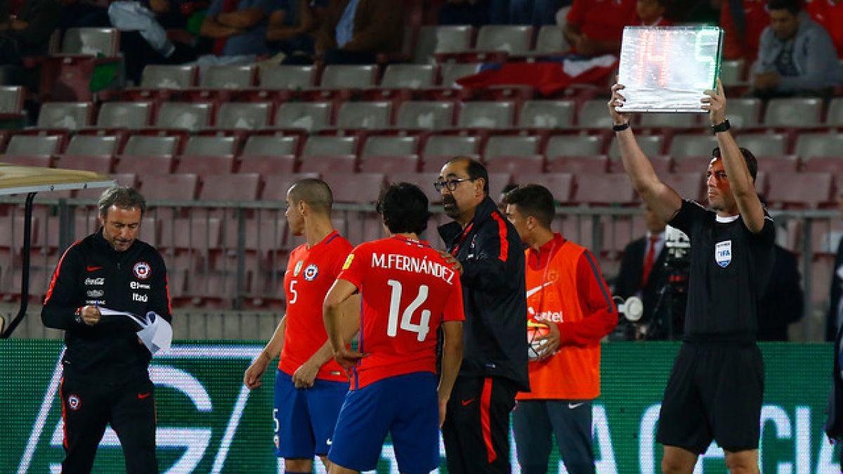 Los pasos que debe seguir La Roja para reemplazar al lesionado Matías Fernández