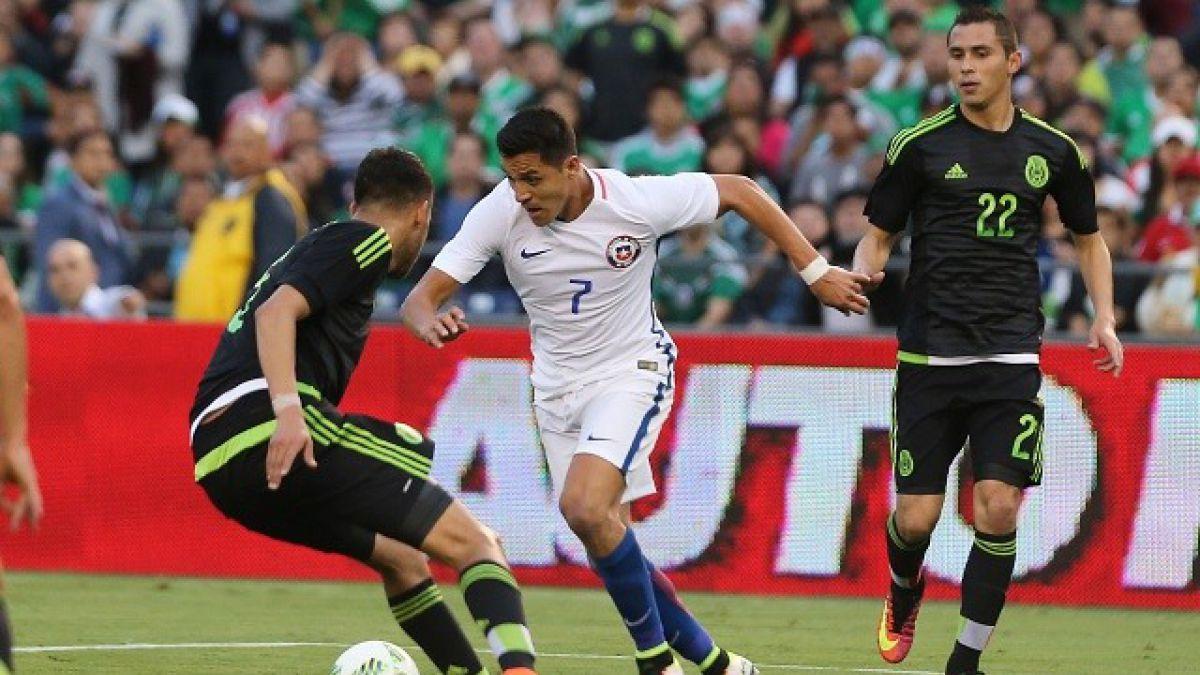 """[Minuto a Minuto] """"La Roja"""" está igualando ante México en su último examen previo a Copa Centenario"""