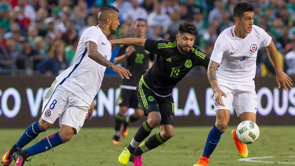 """""""La Roja"""" cae frente a México antes del debut en la Copa América Centenario"""