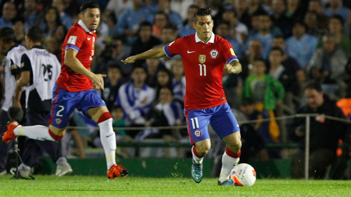 Mark González reemplazará a Matías Fernández en la Copa Centenario
